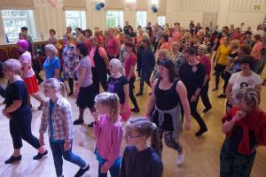 Eesti linetantsu 21.sünnipäev Pärnus, Nooruse majas